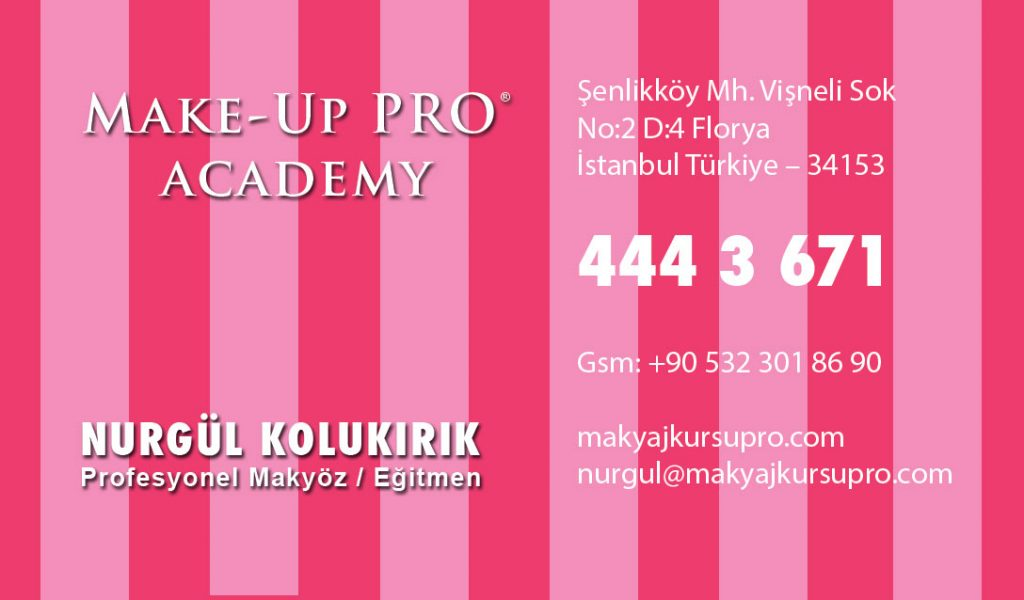 Nurgül kolukırık Profesyonel Makyöz Make-Up Pro Makyaj Kursu