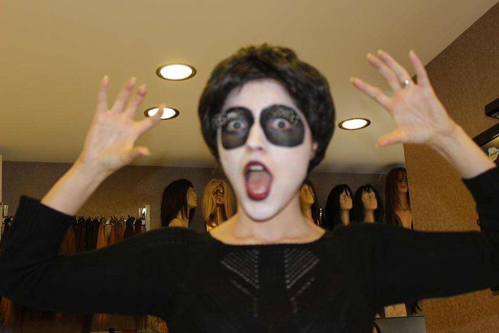 hallowen makyajı