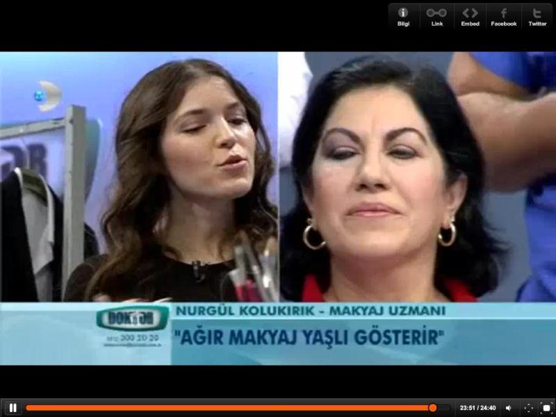 Profesyonel makyaj Türkiye
