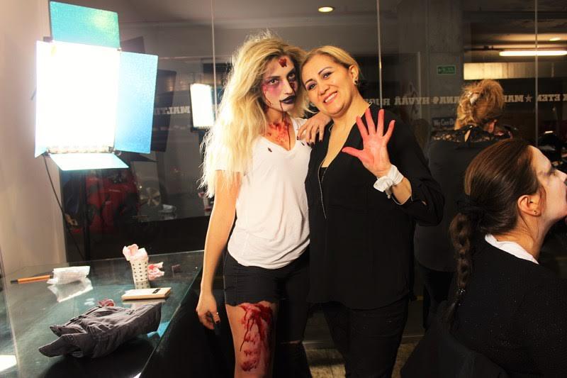zombi makyajı